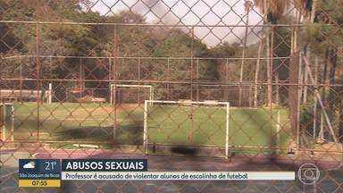 Audiência de instrução do caso do treinador suspeito de estupro em BH deve ser nesta terça - Marcos Vinícius Folco foi preso em agosto após pais chamarem a polícia.