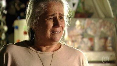 Lucinda pede que Nina saia da casa de Carminha - Lucinda acha que Nina deve deixar a farsa com Carminha
