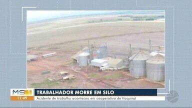 Jovem morre soterrado em silo - Acidente de trabalho aconteceu em cooperativa de Itaquiraí.