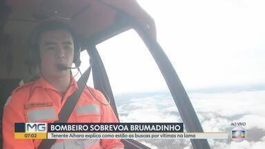 Brumadinho: Tenente Aihara comenta operação dos bombeiros em 300 dias de buscas - Dezesseis vítimas continuam desaparecidas. 254 corpos foram identificados.