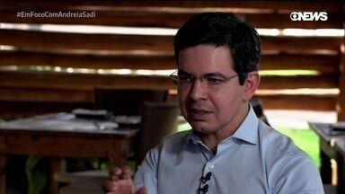 Senador Randolfe Rodrigues (Rede-AP), líder da oposição