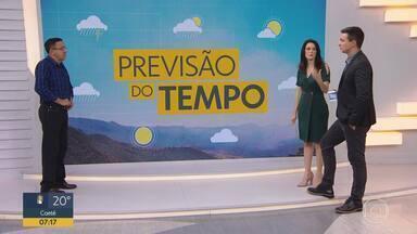 Chuva faz estragos em cidades do leste de Minas - O meteorologista Ruibran dos Reis fala das características da chuva desta época do ano.