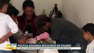 Micaelly de Souza é enterrada na zona leste - Mãe e padrasto são os principais suspeitos da morte da menina de três anos