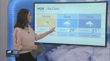 Veja como fica o tempo nesta quinta-feira na região - Um sistema conhecido como vórtice está atuando e deve ocasionar chuvas nas cidades.