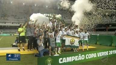 Cuiabá vence Paysandu nos pênaltis e conquista o bicampeonato da Copa Verde - Cuiabá vence Paysandu nos pênaltis e conquista o bicampeonato da Copa Verde.
