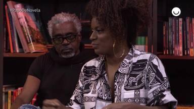 Shirley Cruz fala sobre suas referências negras no Papo de Novela especial 20/11 - Atriz que interpreta a Gláucia de 'Bom Sucesso' conta que isso a fez seguir na carreira