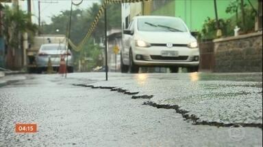 Governo do ES pede investimentos ao governo federal para recuperar a BR-262 - Por causa das chuvas, a estrada teve 50 quedas de barreiras.