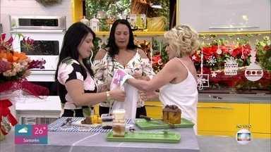 A pedido de Dhara, Ana Maria prepara surpresa para Regiane - Inspirada na personagem Maria da Paz, Regiane começou a fazer doces e bolos para vender. Mas seu grande sonho era conhecer a apresentadora do 'Mais Você'