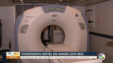 Unidade móvel oferece exames de tomografia até o fim do ano em Angra dos Reis - Caminhão ficará estacionado no Cais de Santa Luzia, no Centro, até o dia 29 de dezembro.