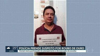 Polícia prende quinto suspeito de roubo de ouro em Guarulhos, em julho - Marcelo José de Lima é apontado como o ourives e teria participado de todas as etapas do assalto. Ele foi preso ontem, na rodovia Fernão Dias.