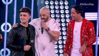PH & Michel falam da parceira com Belo - Dupla agradece o apoio do cantor