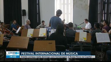 Festival Internacional de Música Clássica de João Pessoa começa neste domingo - Com homenagem à Bossa Nova.