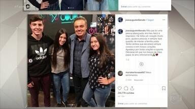 Órgãos de Gugu Liberato já foram removidos e devem beneficiar cerca de 50 pessoas - Ainda não se sabe ao certo quando o corpo do apresentador chega ao Brasil. Neste domingo (24), os três filhos de Gugu fizeram homenagem ao pai em redes sociais.