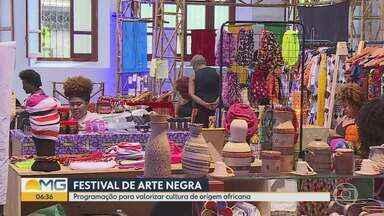 Último dia do Festival de Ate Negra movimenta Belo Horizonte - Foram mais de 50 horas de programação durante sete dias: teatro, cinema, dança e exposições que valorizam a cultura de origem africana.