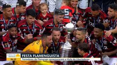 Flamengo vence o River Plate de virada e conquista a Taça Libertadores da América 2019 - Com o título, clube conquista o bicampeonato intercontinental. Jogo aconteceu no Peru, em Lima.