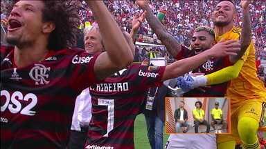 Torcedores e jogadores tentam explicar a paixão pelo Flamengo - Torcedores e jogadores tentam explicar a paixão pelo Flamengo