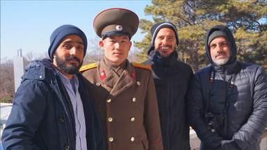 A zona desmilitarizada entre as duas Coreias - Um visita a um dos locais mais tensos do planeta. O grupo examina o passado para tentar enxergar o futuro dos dois países.