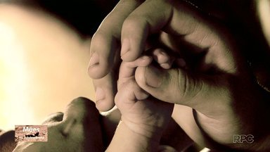 Na série Mães na Adolescência o relato de uma menina que engravidou aos 12 anos - O bebê nasceu no dia 05 de novembro.