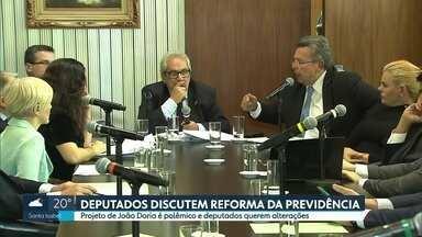 Alesp discute Reforma da Previdência nesta segunda (25) - Projeto de João Doria é polêmico e deputados querem alterações.