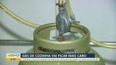 Gás de cozinha no Amazonas deve ficar mais caro - Petrobras anunciou reajuste