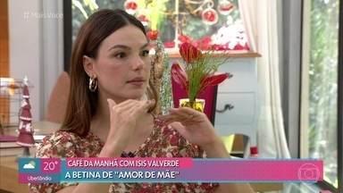 Isis Valverde conta um pouco sobre sua personagem Betina em 'Amor de Mãe' - A atriz conta como foi a construção de sua personagem