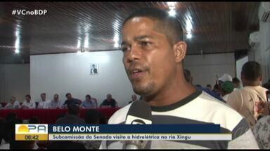 Subcomissão do Senado visita hidrelétrica de Belo Monte - undefined