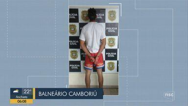 Giro de notícias: Homem é presos suspeito de feminicídio em Balneário Camboriú - Giro de notícias: Homem é presos suspeito de feminicídio em Balneário Camboriú