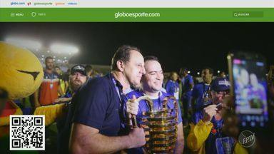 GE no BDC: tricolor na fila, animador de torcida no Santos e trajetória de Tiago Nunes - Confira as últimas notícias do esporte na web com Heitor Esmeriz.
