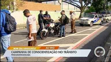 Pinda vai intensificar ações no trânsito - Cidade registrou 44 mortes no trânsito neste ano.