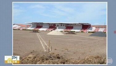 Times do futebol piauiense tem até sexta-feira para apresentar laudos dos estádios - Times do futebol piauiense tem até sexta-feira para apresentar laudos dos estádios