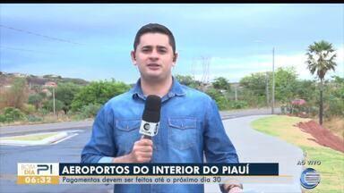 Greve em aeroportos do interior do Piauí chega ao fim após regularização de pagamentos - Greve em aeroportos do interior do Piauí chega ao fim após regularização de pagamentos