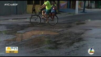 Moradores reclamam de buracos na Senador Lemos - Moradores reclamam de buracos na Senador Lemos