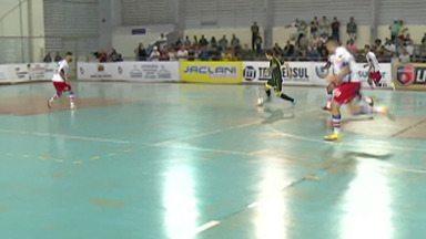 Mogi Futsal empata com o Santo André - Jogo foi pelas quartas de final da Liga Paulista.