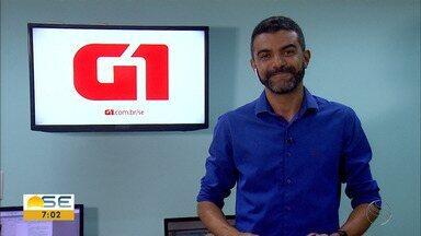 Confira os destaques do G1 Sergipe com Anderson Barbosa - Entre os destaques, a prorrogação do prazo para concluir o inquérito do acidente com o cantor Gabriel Diniz.