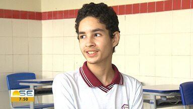 Aluno de escola pública de Sergipe vence concurso nacional de redação - Aluno de escola pública de Sergipe vence concurso nacional de redação.