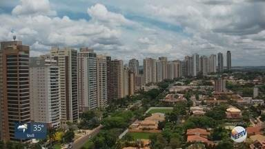 Confira a previsão do tempo para esta quarta-feira (27) na região de Ribeirão Preto - Temperatura pode chegar a 34° C.