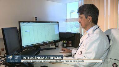 Pesquisadores da Unicamp desenvolvem sistema para identificar risco de novo infarto - Sistema inédito de inteligência artificial classifica o risco de pacientes que já sofreram infarto passarem de novo por isso.