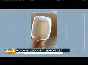 VC no MG: Confira os vídeos enviados pelos telespectadores - Moradora de Guanhães reclama de água suja que está chegando em sua residência.