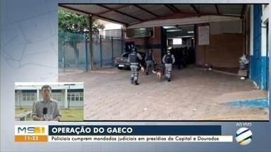 Gaeco faz operação contra facções em presídios da Capital e em Dourados - Alvo em Campo Grande foi o presídio de Segurança Máxima