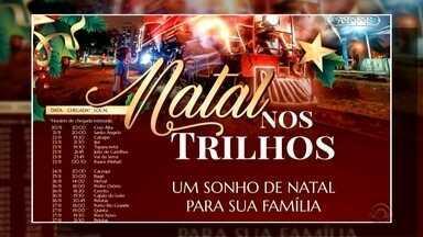 Natal nos Trilhos passa hoje por Rio Grande e Pelotas - Assista ao vídeo.