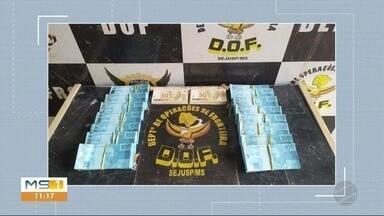 Dof apreende notas falsas - Dinheiro soma mais de R$160 mil.