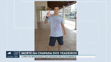 Jovem de Brasília morre afogado na Chapada dos Veadeiros - Segundo os bombeiros, Matheus Santos, de 23 anos, foi fazer uma trilha com familiares, na segunda-feira, e se separou do grupo. O corpo dele foi encontrado depois de dois dias de buscas.