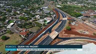 Foztrans propõe alça de acesso aos bairros no viaduto da Costa e Silva - O DRE informou em nota que é favorável à obra, mas ainda não disse quem vai se responsabilizar pelo custo.