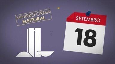 Fundo Eleitoral x Partidário - entenda as diferenças e como ficam as novas regras - Jornal da Globo mostra como a minirreforma eleitoral afetou o Fundo Eleitoral e o Fundo Partidário, além das diferenças entre eles.