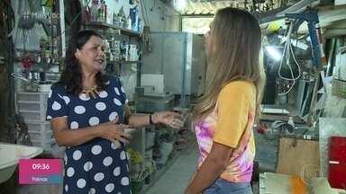 Fernanda Lobianco ganha a vida com artesanato feito de vidro - Artesã conta como o artesanato mudou sua vida e fala sobre a adaptação aos tempos de vendas pela internet