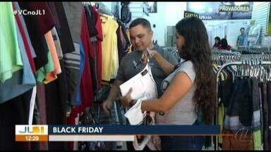 Comerciantes e consumidores aguardam ansiosos pela Black Friday - Comerciantes e consumidores aguardam ansiosos pela Black Friday