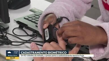 Prazo do cadastramento biométrico em 82 cidades termina nesta sexta (29) - Em outras 319 cidades, prazo vai até o dia 19 de dezembro