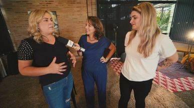 Roberta Campos acompanhar bastidores de chamada da EPTV - 'Amor de Mãe' estreou essa semana e a EPTV preparou uma chamada especial; Roberta Campos acompanha os bastidores