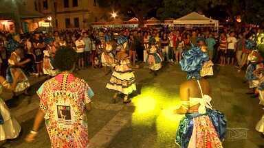 Festa da Música invade Centro Histórico de São Luís - No cair da noite, os lampiões se acendem, o público vai chegando, formando plateia para ouvir música num dos cantinhos mais charmosos da cidade.