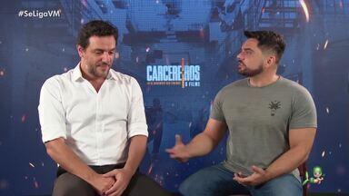 """Tudo sobre o lançamento de """"Carcereiros - O Filme"""" - Daniel Viana entrevista Rodrigo Lombardi e mais estrelas do elenco"""